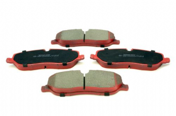 LR019618 LR134694 Allmakes Terrafirma Reduced Dust Front Brake Pad Set Discovery 3, RR & RR Sport